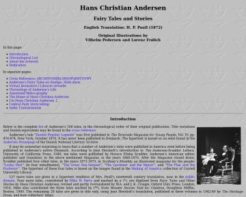 Hans Christian Andersen: Fairy Tales and Stories