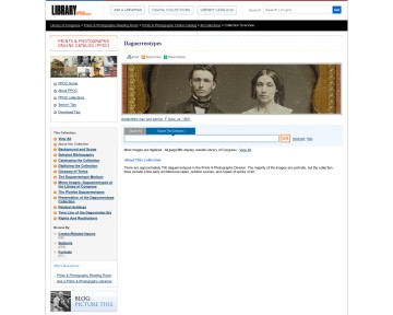 Daguerreotype Portraits and Views