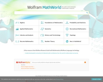 MathWorld - Wolfram Alpha