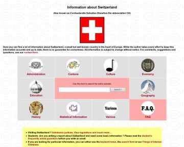 Information about Switzerland