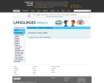 French for beginners - BBC Languages