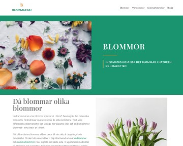 Blommar.nu - Rapportera vårtecken 2011