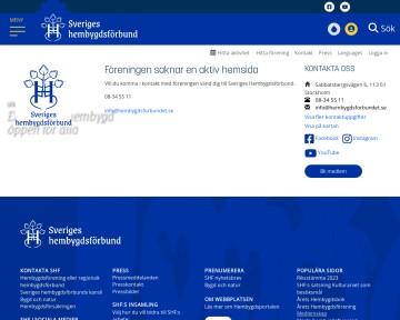 Sveriges Hembygdsf�rbund