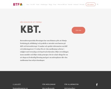Kognitiv Beteendeterapi - KBT