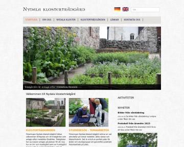 Nydala klosterträdgård