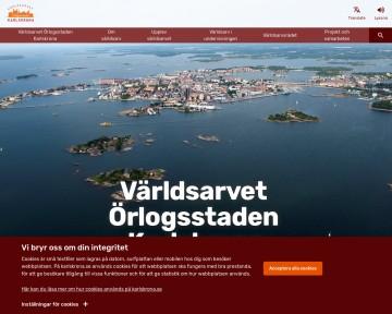 Örlogsstaden Karlskrona - världsarv