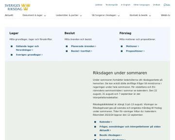 Sveriges Riksdag