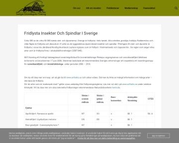 Fridlysta insekter i Sverige