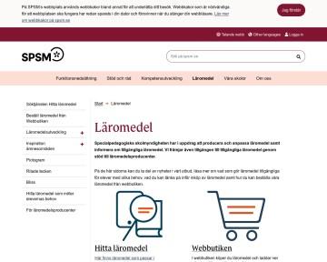 Läromedel - Specialpedagogiska skolmyndigheten