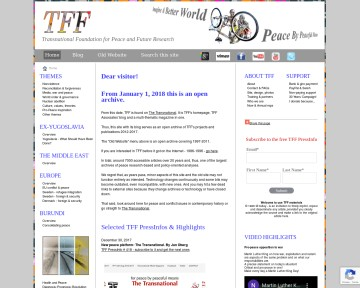 Transnational Foundation For Peace and Future Research (TFF)