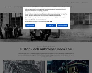 Vår historia och tekniska milstolpar - Volvo Group