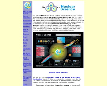 The ABC's of Nuclear Science
