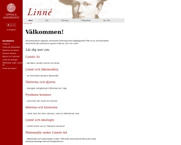 Linné on line
