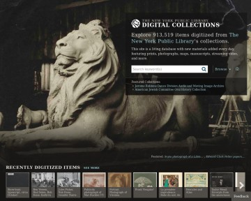 NYPL - Digital Gallery
