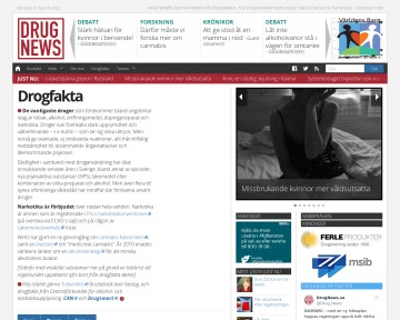 Drogfakta - Drugnews