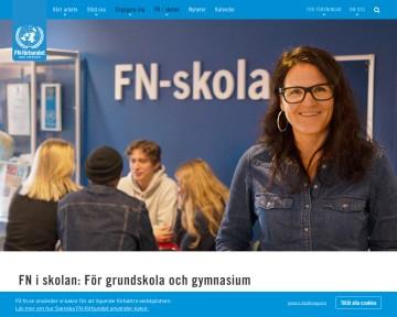 FN-förbundets skolsidor