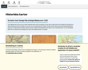 Historiska kartor - Lantmäteriet