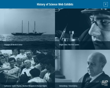 History of Science Web Exhibits