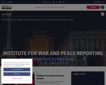 Institute for War & Peace Reporting - IWPR