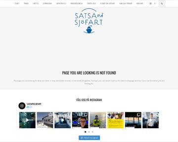 Fartygstyper - Satsa på sjöfart
