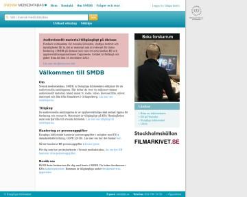 Svensk mediedatabas - Kungliga biblioteket