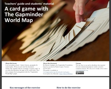 A card game with The Gapminder World Map (Pdf-fil)