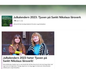 Marvinter  - Julkalendern i Sveriges radio 2017