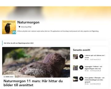 Naturmorgon i Sveriges Radio