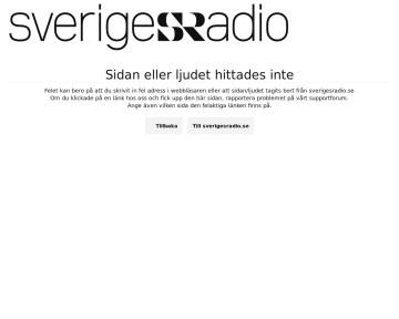Ekots utrikesbakgrunder - Sveriges Radio