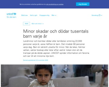 Barn och minor - UNICEF