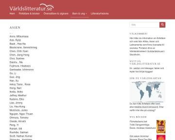 Barn & ung - Asien - Världslitteratur.se