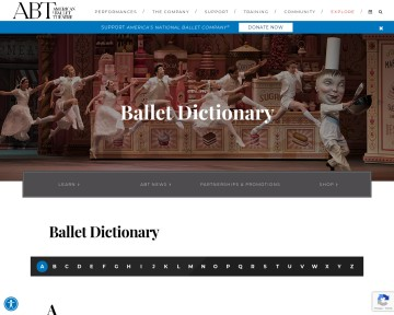 Ballet Dictionary ABT
