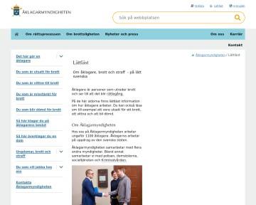 Åklagarmyndigheten - Lättläst text