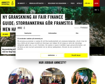 Amnesty International - Svenska sektionen