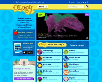 OLogy - The Science Website for Kids