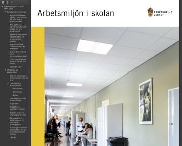 Arbetsmiljön i skolan (Pdf-fil)