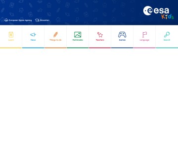 ESA - Space for Kids