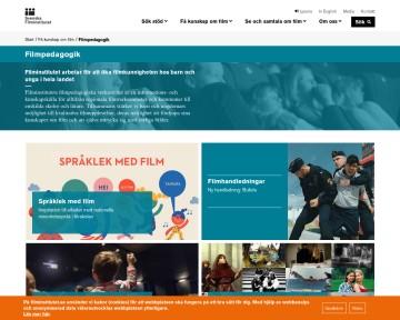 Film i skolan - Svenska Filminstitutet