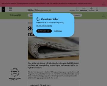 Svenska webbtidningar