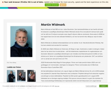 Martin Widmark - barnboksförfattare