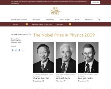 Nobelpriset i fysik 2009