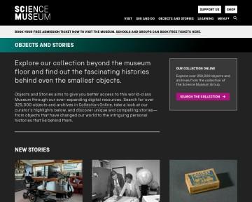 Online science - Science Museum