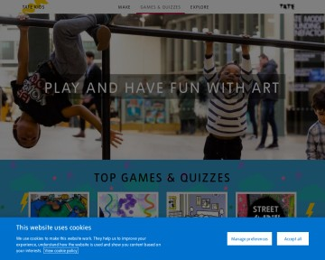 Tate Kids - Games and quizzes