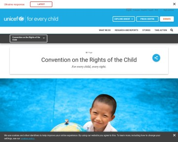 Convention on the Rights of the Child - UNICEF