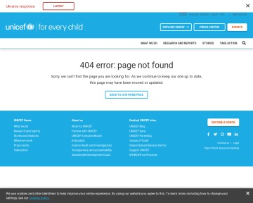 The State of the World's Children  - UNICEF