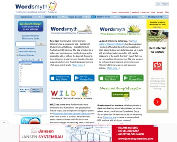 Wordsmyth Dictionary-Thesaurus